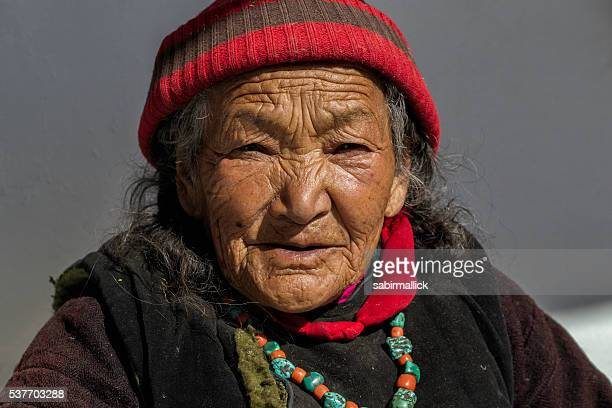Portrait of Buddhist women, India