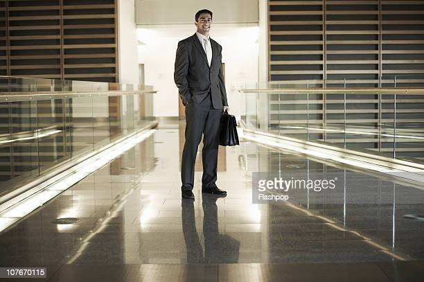 Portrait of business man smiling