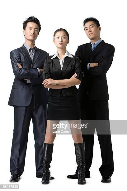 Portrait of business team