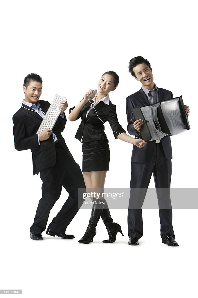 Portrait of business team : Stock Photo