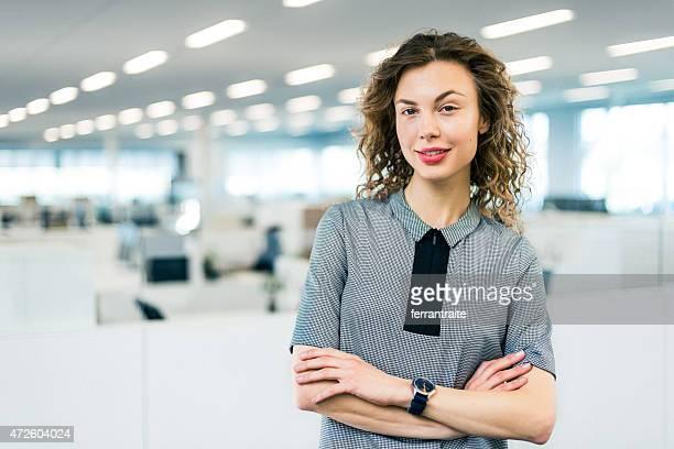 Portrait of Business Woman in modern office