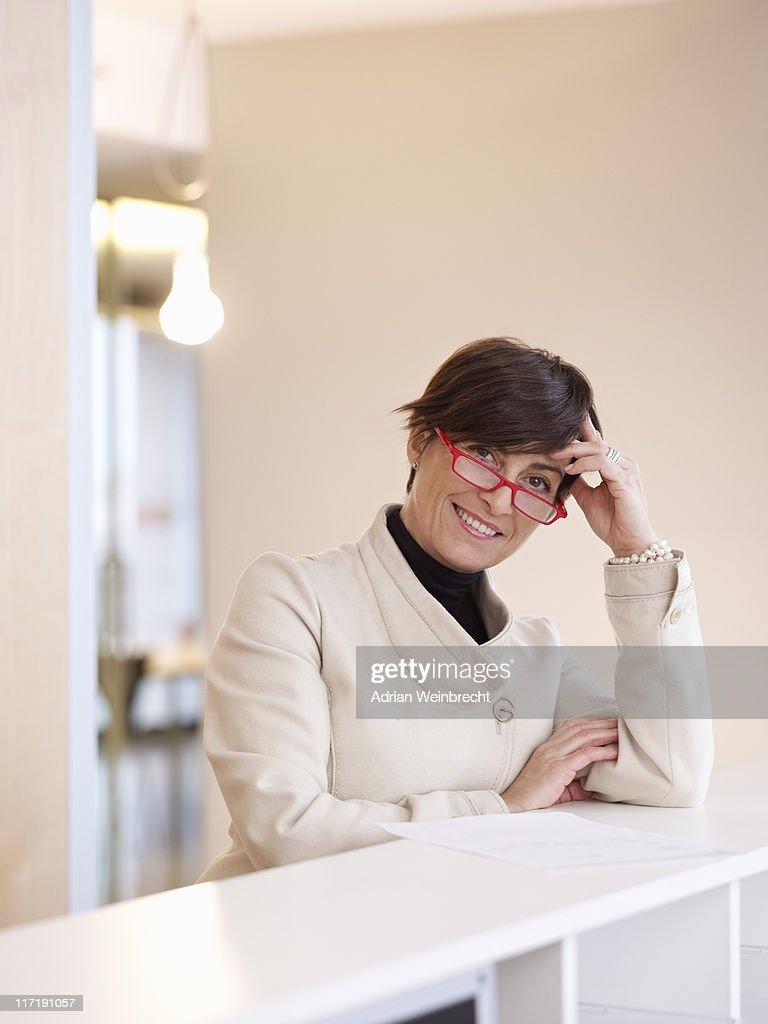 Portrait of business Woman : Stock Photo