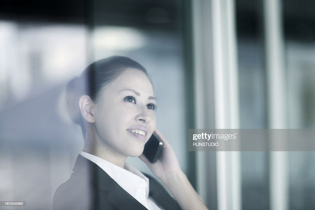 portrait of business woman : Stock Photo