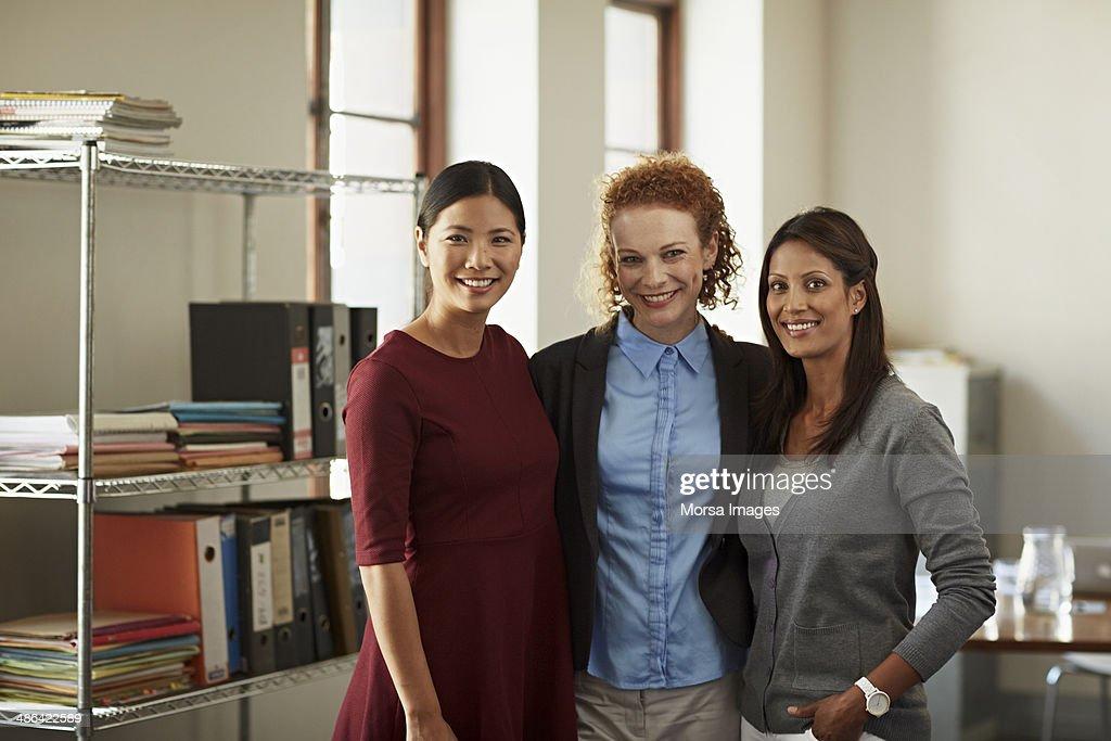 Portrait of business women : Stock Photo