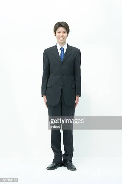 Portrait of businessman, full length