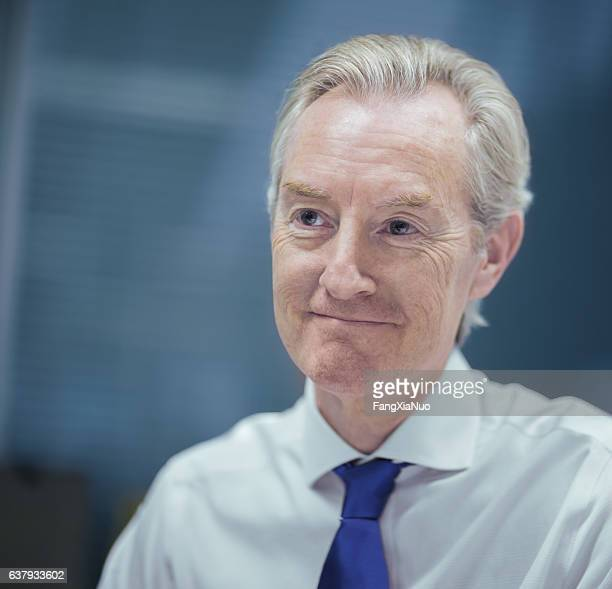 Porträt der Geschäftsmann im Büro