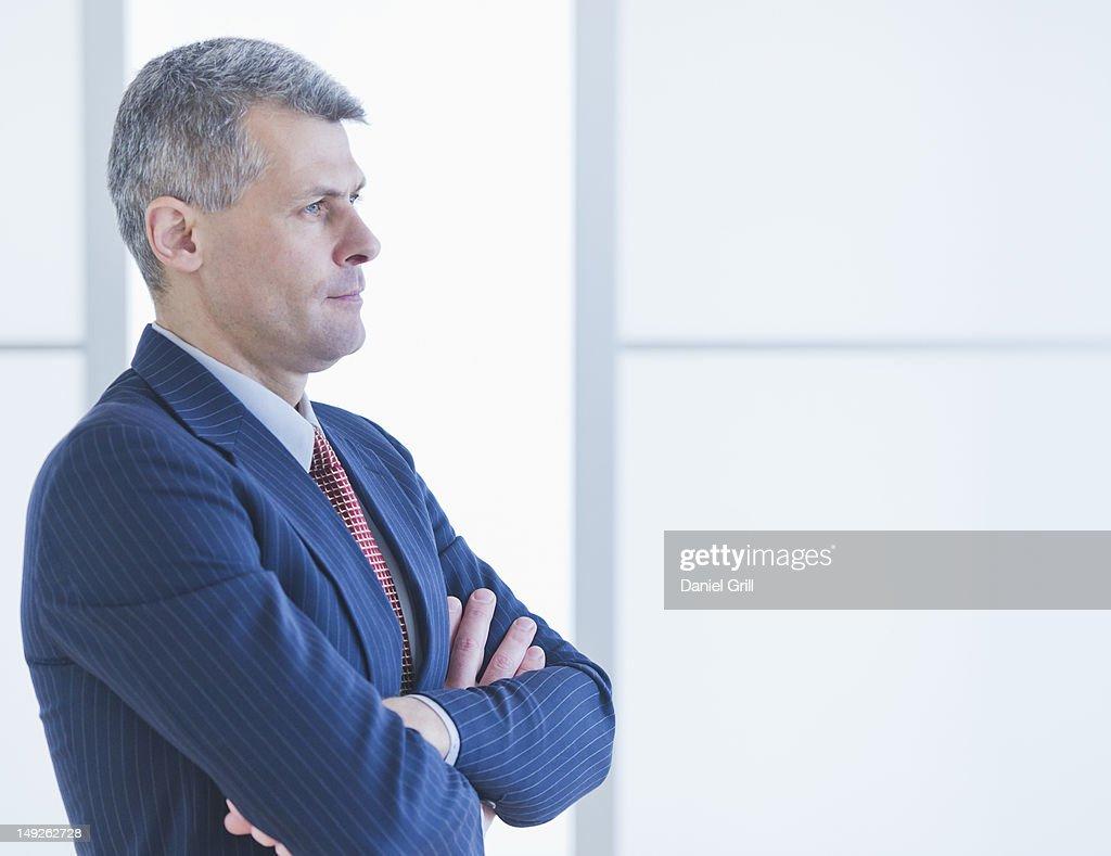 Portrait of businessman : Stock Photo