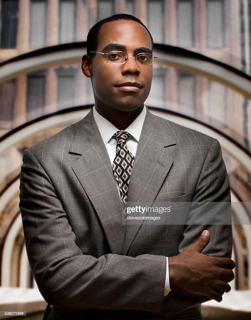 Ritratto di uomo d'affari : Foto stock