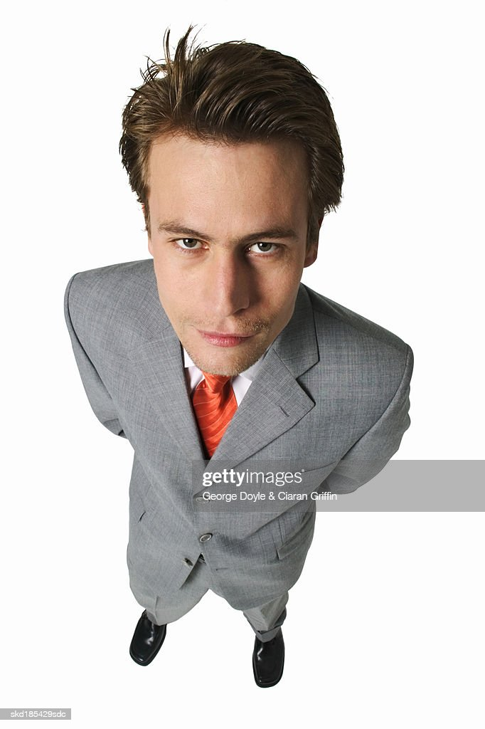 Portrait of businessman standing : Stock Photo