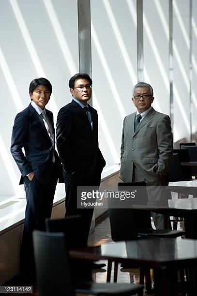 portrait of businessmen