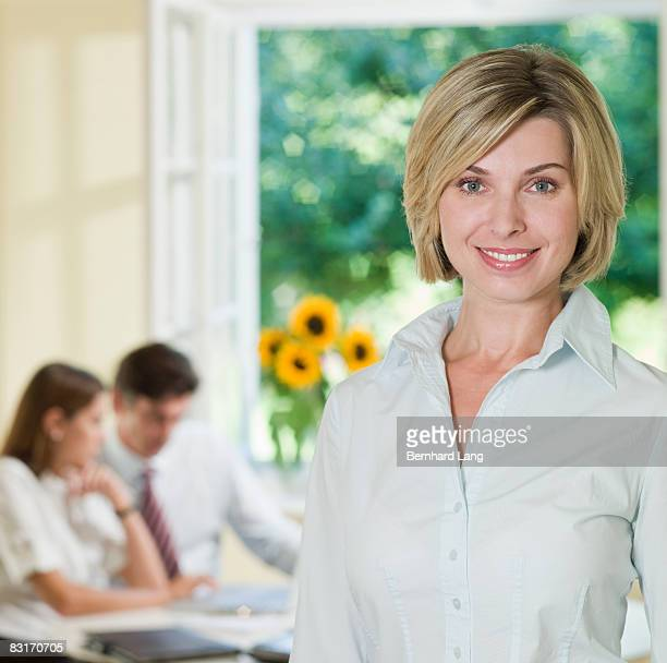 Portrait of Business-Woman, smiling