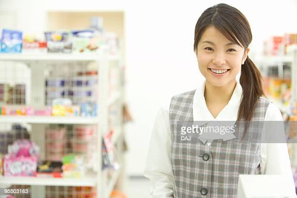 Portrait of businesswoman smiling