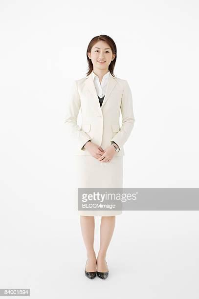 Portrait of businesswoman, studio shot