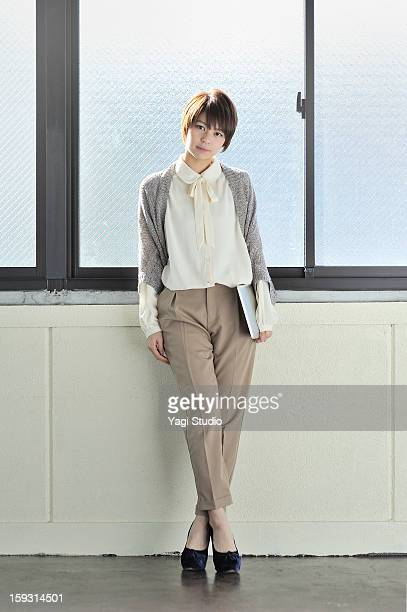 Portrait of Businesswoman  with digital tablet