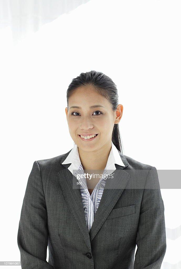 Portrait of businesswoman,smiling : Stock Photo