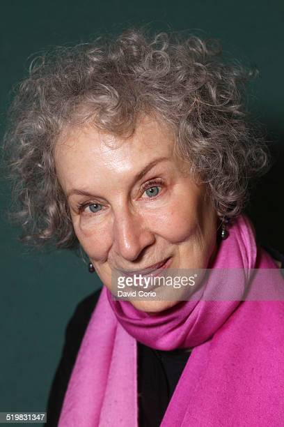 Portrait of Canadian author Margaret Atwood UK 5th October 2013
