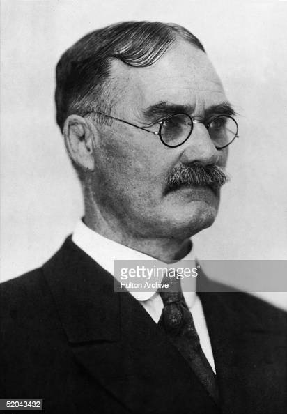 Portrait of Canadian physician and teacher Dr James Naismith inventor of the game of basketball 1890s