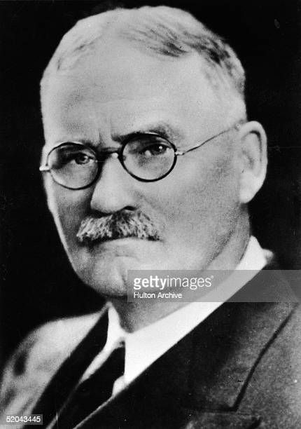 Portrait of Canadian physician and teacher Dr James Naismith inventor of the game of basketball 1900s