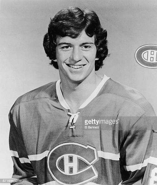 Portrait of Canadian professional ice hockey player Doug Risebrough of the Montreal Canadiens 1974 75 Season Risebrough played with Montreal from...
