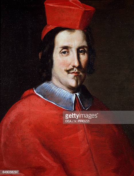 Portrait of Cardinal Bernardino Rocci by Jacob Ferdinand Voet oil on canvas Rome Galleria Spada