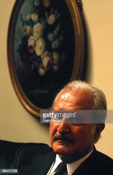 Portrait of Carlos Fuentes writer