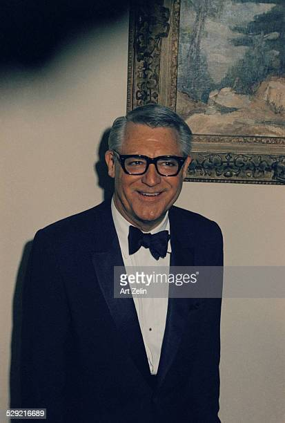 Portrait of Cary Grant circa 1970 New York