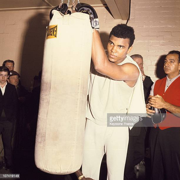 Portrait Of Cassius Clay Training During The Sixties