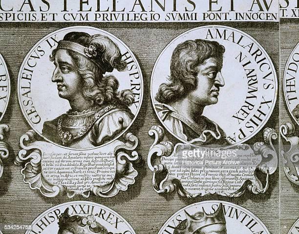 Portrait of Catholic King of Spain