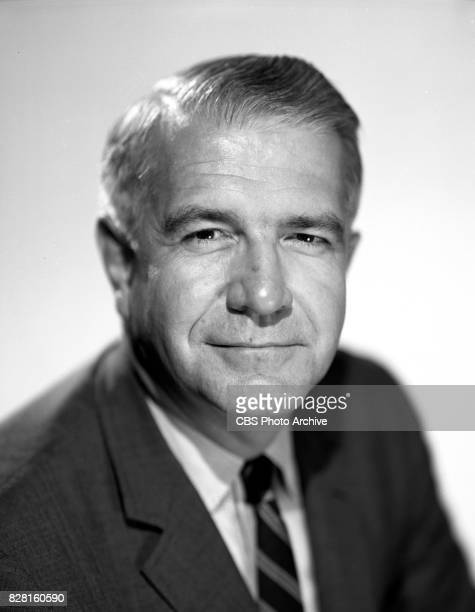 Portrait of CBS News reporter Harry Reasoner Image dated July 18 1966 New York NY