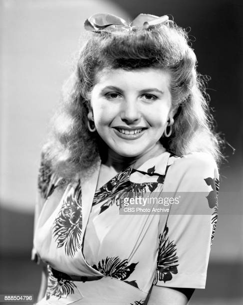 Portrait of CBS Radio performer Yvonne Mann She is heard on the radio program Aunt Jennys Real Life Stories New York NY Image dated June 30 1941