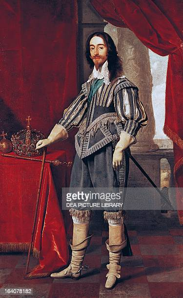 Portrait of Charles I King of England Scotland Ireland and France London National Gallery