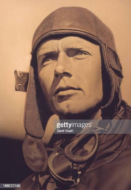 Portrait of Charles Lindberg on January 31 1996 in Washington DC