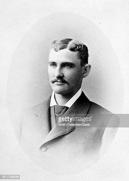 Portrait of Charles 'Pop' Snyder American catcher manager and umpire in Major League Baseball 1900 From the New York Public Library