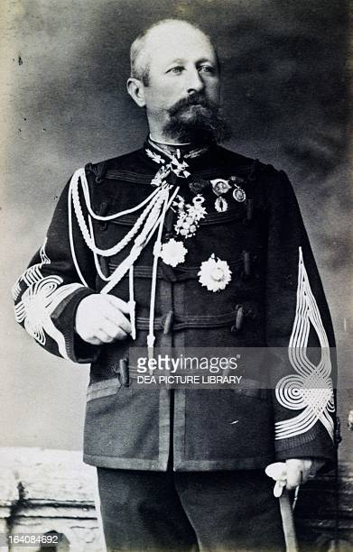 Portrait of Charles Sulpice Jules Chanoine colonel in the French Army and Minister of War in 1898