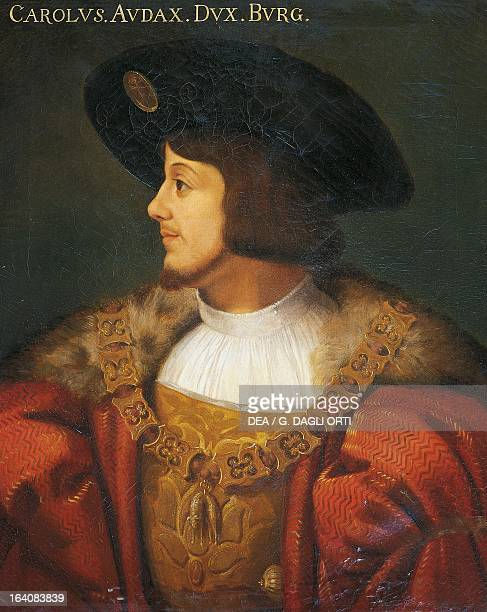 Portrait of Charles The Bold Count of Charolais and Duke of Burgundy Trieste Castello Di Miramare