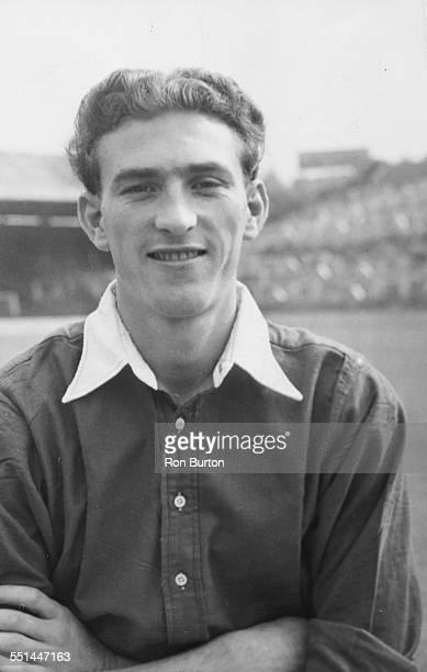 Portrait of Charlton Athletic Football Club player John Evans August 20th 1952