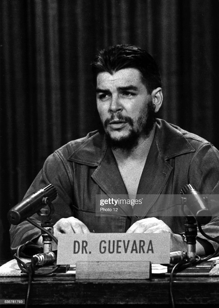 Portrait of <a gi-track='captionPersonalityLinkClicked' href=/galleries/search?phrase=Che+Guevara&family=editorial&specificpeople=67207 ng-click='$event.stopPropagation()'>Che Guevara</a>, 20th century, Cuba.