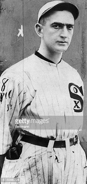 Portrait of Chicago White Sox outfielder Joe Jackson 'Say it ain't so'