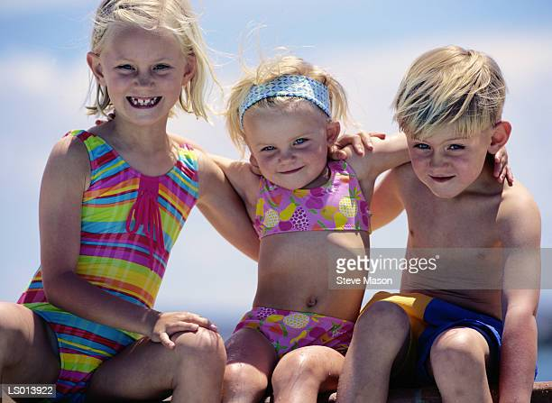 Portrait of Children at the Beach