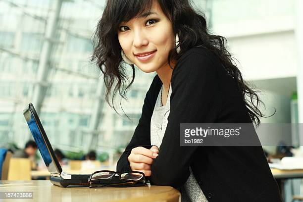 portrait of chinese business woman