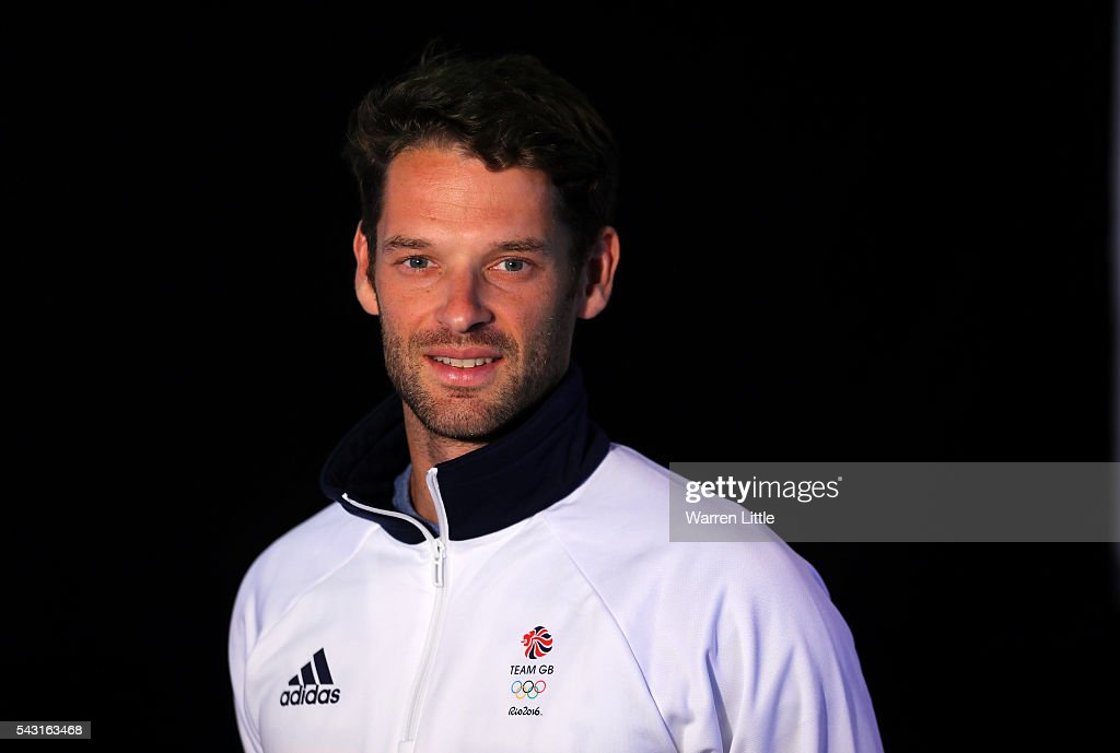 A portrait of <a gi-track='captionPersonalityLinkClicked' href=/galleries/search?phrase=Chris+Bartley&family=editorial&specificpeople=1007112 ng-click='$event.stopPropagation()'>Chris Bartley</a> a member of the Great Britain Olympic team during the Team GB Kitting Out ahead of Rio 2016 Olympic Games on June 26, 2016 in Birmingham, England.