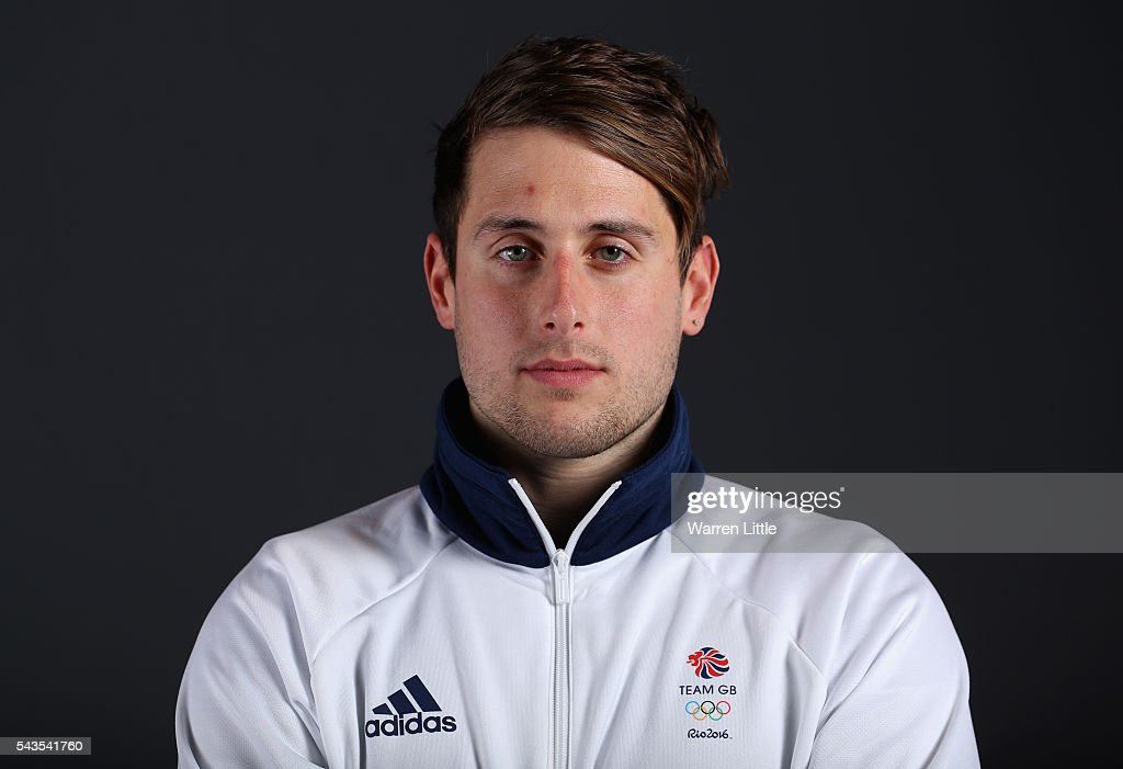 A portrait of <a gi-track='captionPersonalityLinkClicked' href=/galleries/search?phrase=Chris+Walker-Hebborn&family=editorial&specificpeople=5538976 ng-click='$event.stopPropagation()'>Chris Walker-Hebborn</a> a member of the Great Britain Olympic team during the Team GB Kitting Out ahead of Rio 2016 Olympic Games on June 29, 2016 in Birmingham, England.