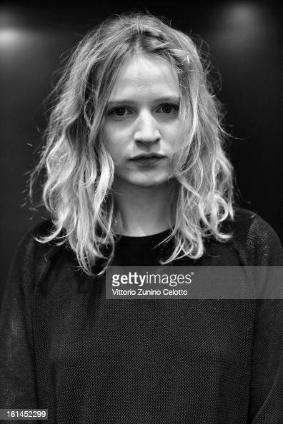 A portrait of Christa Theret at Shooting Stars 2013 during the 63rd Berlinale International Film Festival on February 10 2013 in Berlin Germany
