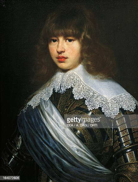 Portrait of Christian V of Denmark King of Denmark and Norway Painting by Justus Sustermans oil on canvas 717x54 cm Florence Palazzo Pitti Galleria...