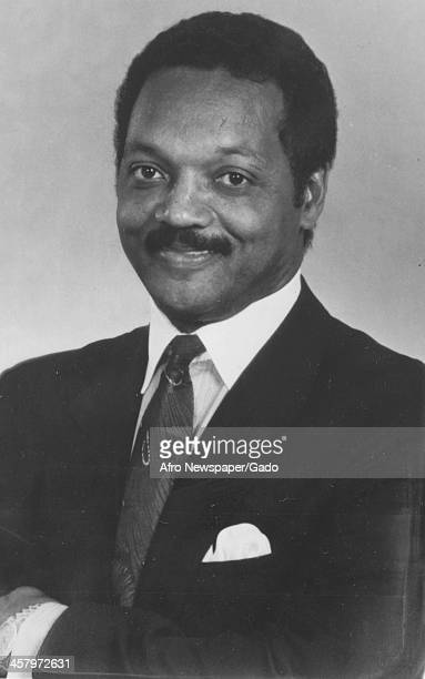 Portrait of civil rights activist Jesse Jackson Sr 1960