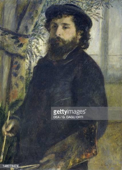 Portrait of Claude Monet by PierreAuguste Renoir Paris Musée D'Orsay