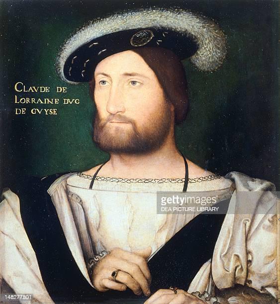 Portrait of Claudio de Lorraine Duke of Guise Jean Clouet Florence Palazzo Pitti Galleria Palatina