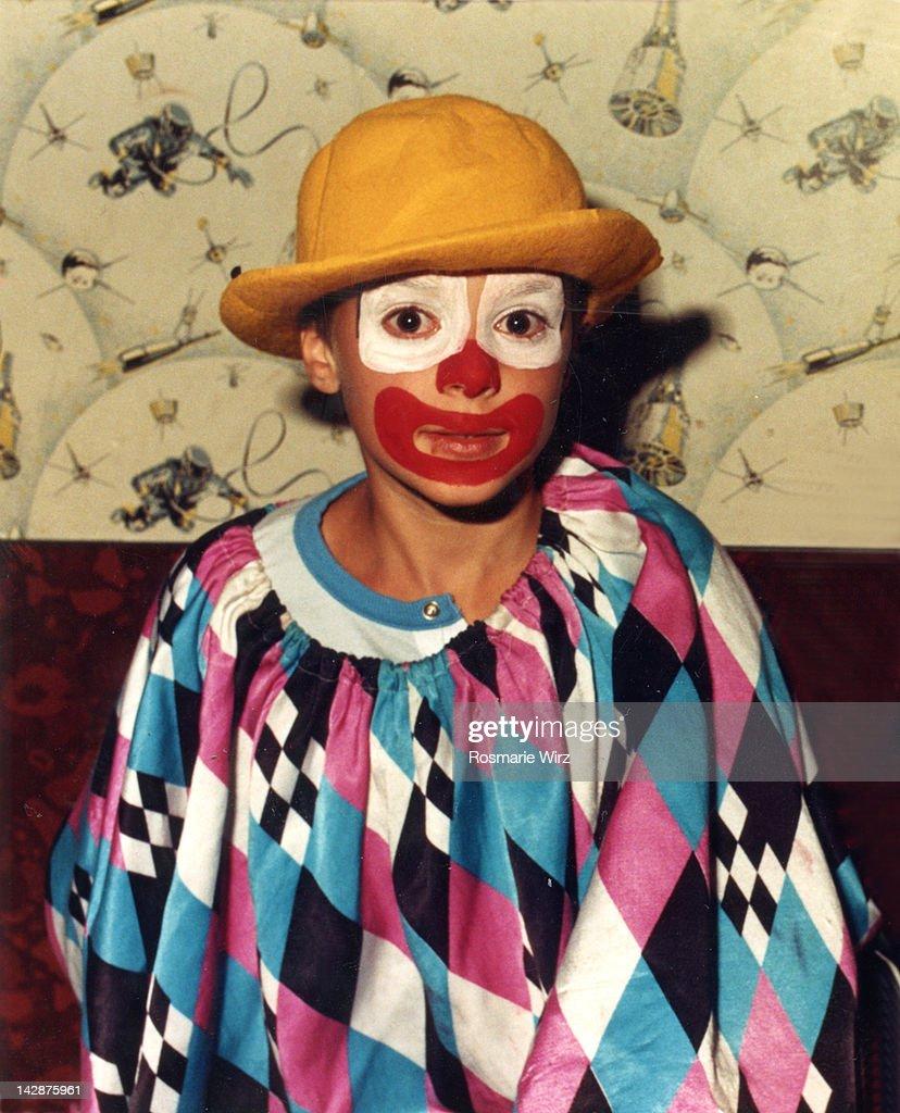Portrait of clown : Stock Photo