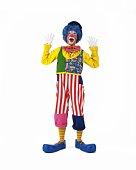Portrait of Clowns Posing, Front View