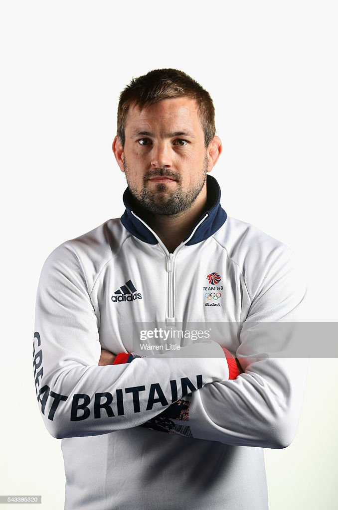 A portrait of <a gi-track='captionPersonalityLinkClicked' href=/galleries/search?phrase=Colin+Oates&family=editorial&specificpeople=7674462 ng-click='$event.stopPropagation()'>Colin Oates</a> a member of the Great Britain Olympic team during the Team GB Kitting Out ahead of Rio 2016 Olympic Games on June 28, 2016 in Birmingham, England.